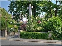 SZ5881 : Shanklin War Memorial and Memorial Garden by David Dixon