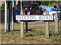 TM3388 : Flixton Road sign by Adrian Cable