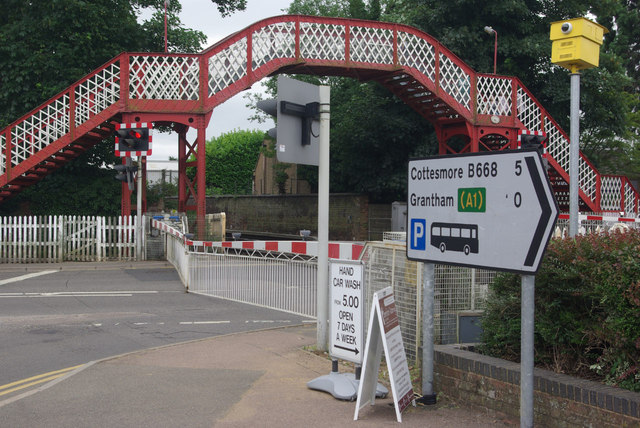 Level crossing in Oakham