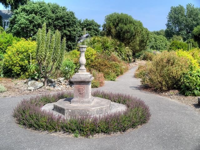 Sundial, Ventnor Botanic Garden
