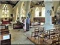 SZ5281 : The Nave, Godshill Church by David Dixon