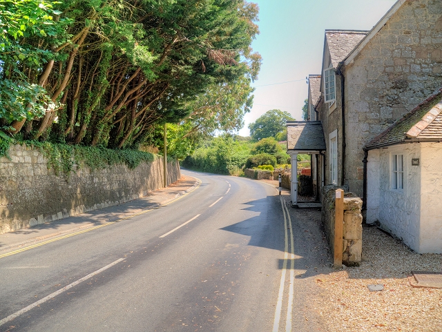 Godshill, Shanklin Road (A3020)
