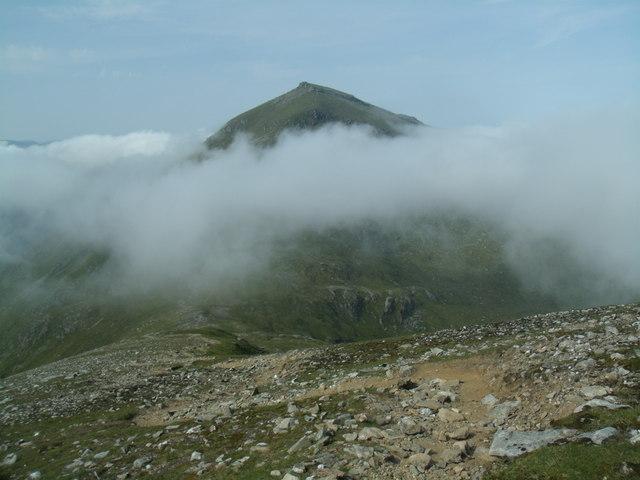 Descent from Stob Binnein