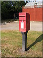 TM2984 : St.Cross Postbox by Adrian Cable