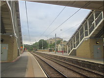 SE1537 : Shipley railway station platforms 3 and 4 by John Slater