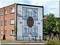 J3571 : 36th (Ulster) Division Victoria Cross mural, Cregagh, Belfast by Albert Bridge