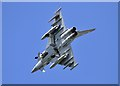 NO4520 : A Eurofighter Typhoon at RAF Leuchars by Walter Baxter