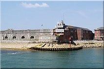 SZ6299 : East Demi Bastion, Fort Blockhouse by David Dixon