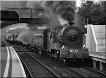 J3271 : Steam train passing Adelaide station by The Carlisle Kid