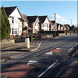SO6302 : Church Road houses, Lydney by Jaggery