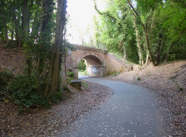 Winchester, disused railway bridge
