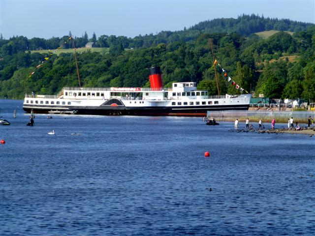 """Maid of the Loch"", Loch Lomond"