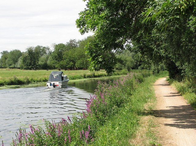 On the Cam above Clayhithe