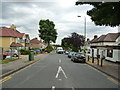 TQ2566 : South Morden:  Forest Road by Dr Neil Clifton