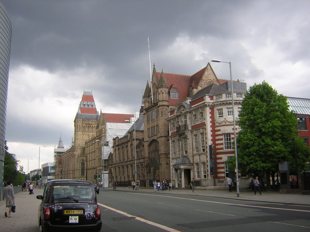 Manchester University, main building