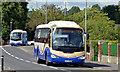 J1953 : Two Goldline coaches, Dromore (2013-1) by Albert Bridge