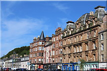NS0964 : East Princes Street, Rothesay by Leslie Barrie