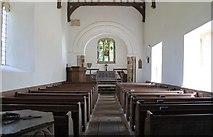 TF3579 : Interior, St Michael's church, Burwell by Julian P Guffogg