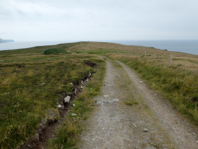 Track on the Ness of Trebister