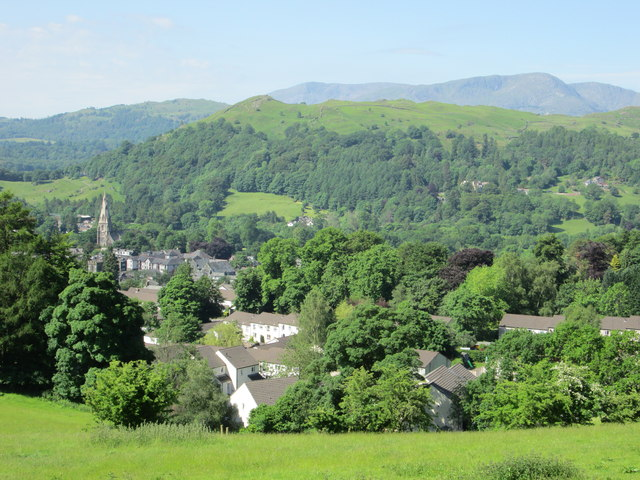 Ambleside, Loughrigg and the Coniston Fells