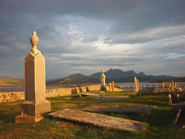 Melness Burial Ground and Ben Loyal