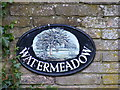 TM3182 : Watermeadow sign by Adrian Cable