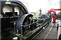 SD8634 : Queen Street Mill - engine running by Chris Allen