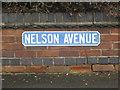 SP2965 : Nelson Avenue nameplate 2 by Robin Stott