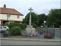 SK7431 : Harby War Memorial by JThomas