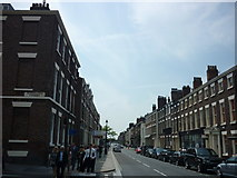 SJ3589 : Rodney Street by Carroll Pierce