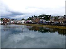 NM8529 : The still waters of Oban Bay by Kenneth  Allen