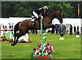 NT0879 : Show jumping, Hopetoun International Horse Trials by William Starkey