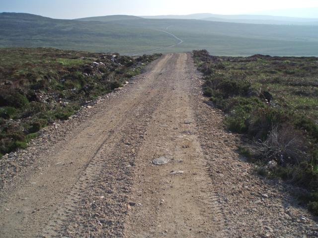 New track east of Caochan Gortach
