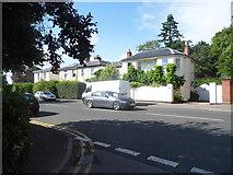 SO9621 : London Road at the corner of Oakland Street, Charlton Kings by David Howard