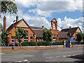 TQ0472 : Shortwood infant school by Alan Hunt
