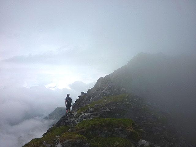 High on the north ridge of Ben Hope