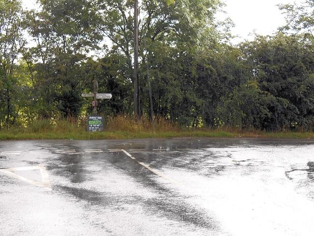 Rural Road Junction, Stenson