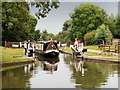 SK3229 : Trent and Mersey Canal, Stenson Lock by David Dixon