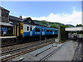 SH7956 : Arriva train arriving at Betws-y-Coed by Richard Hoare