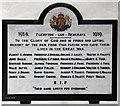 TL8169 : St Catherine, Flempton - War Memorial WWI by John Salmon