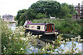 NT2372 : Narrowboat on the Union Canal by Anne Burgess