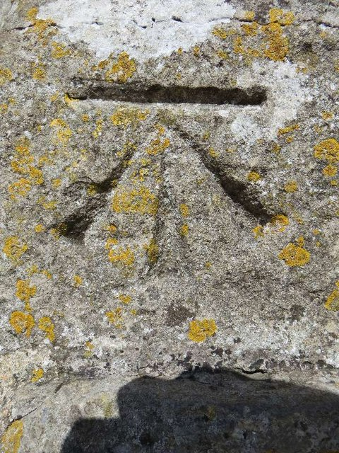 Benchmark on Glastonbury Tor
