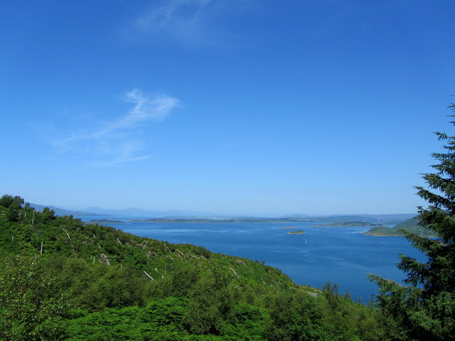 A View from the Crinan Trail