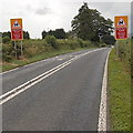 SO0763 : Reduce speed now on the A483  NE of Llandrindod Wells by Jaggery