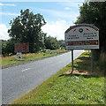 SO0662 : NE boundary of Llandrindod Wells by Jaggery