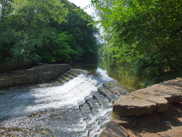 Weir on the Wansbeck