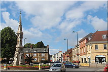 SP4540 : Banbury Cross by Oast House Archive