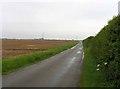 SK7646 : Deadwong Lane towards Sibthorpe by Andrew Tatlow