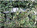 TM3281 : Mill Lane sign by Adrian Cable