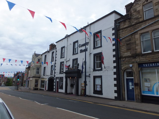 The County Hotel, Selkirk